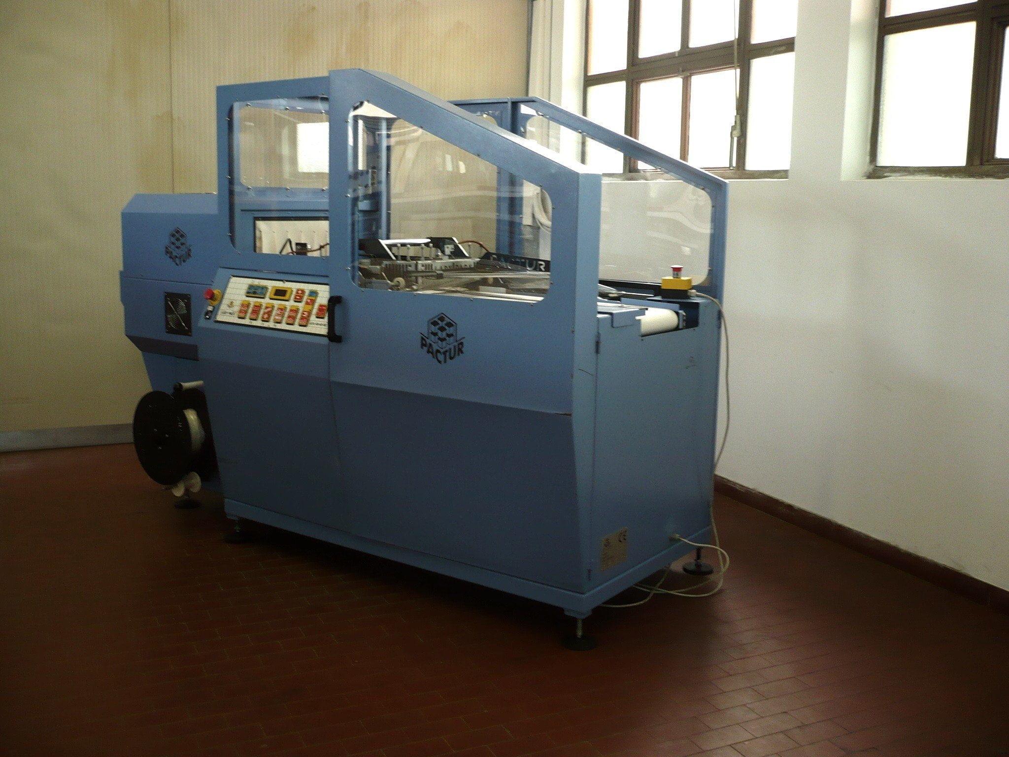 Confezionatrice Termoretraibile Automatica Pactur Auto 40 Usata 1