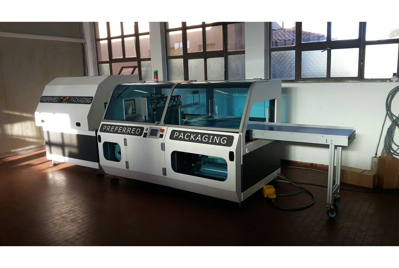 Confezionatrice termoretraibile automatica DM Pack Dea 500 Box Motion 1