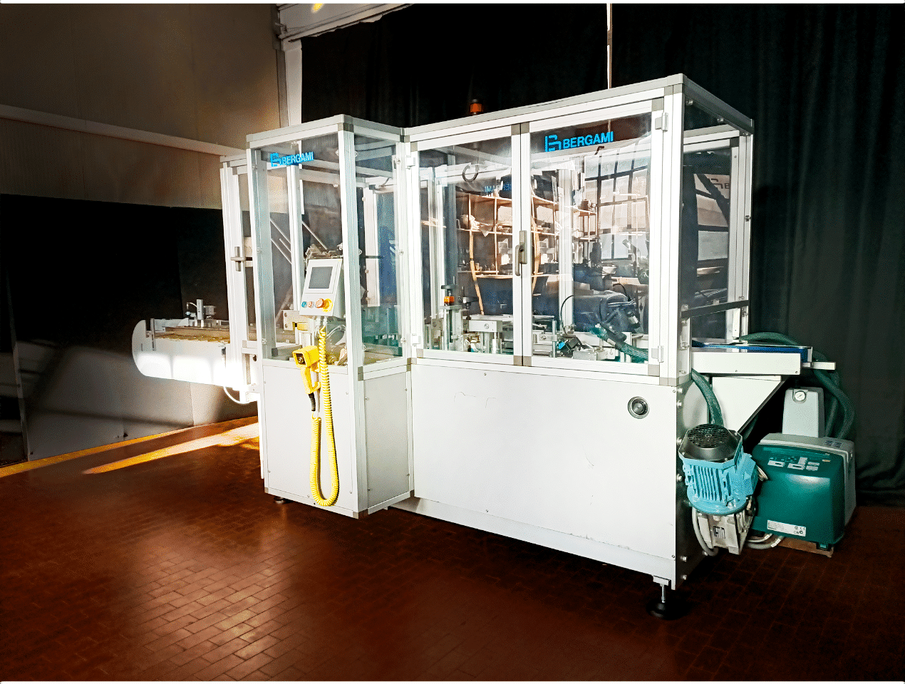 Astucciatrice automatica orizzontale Bergami AS70 2