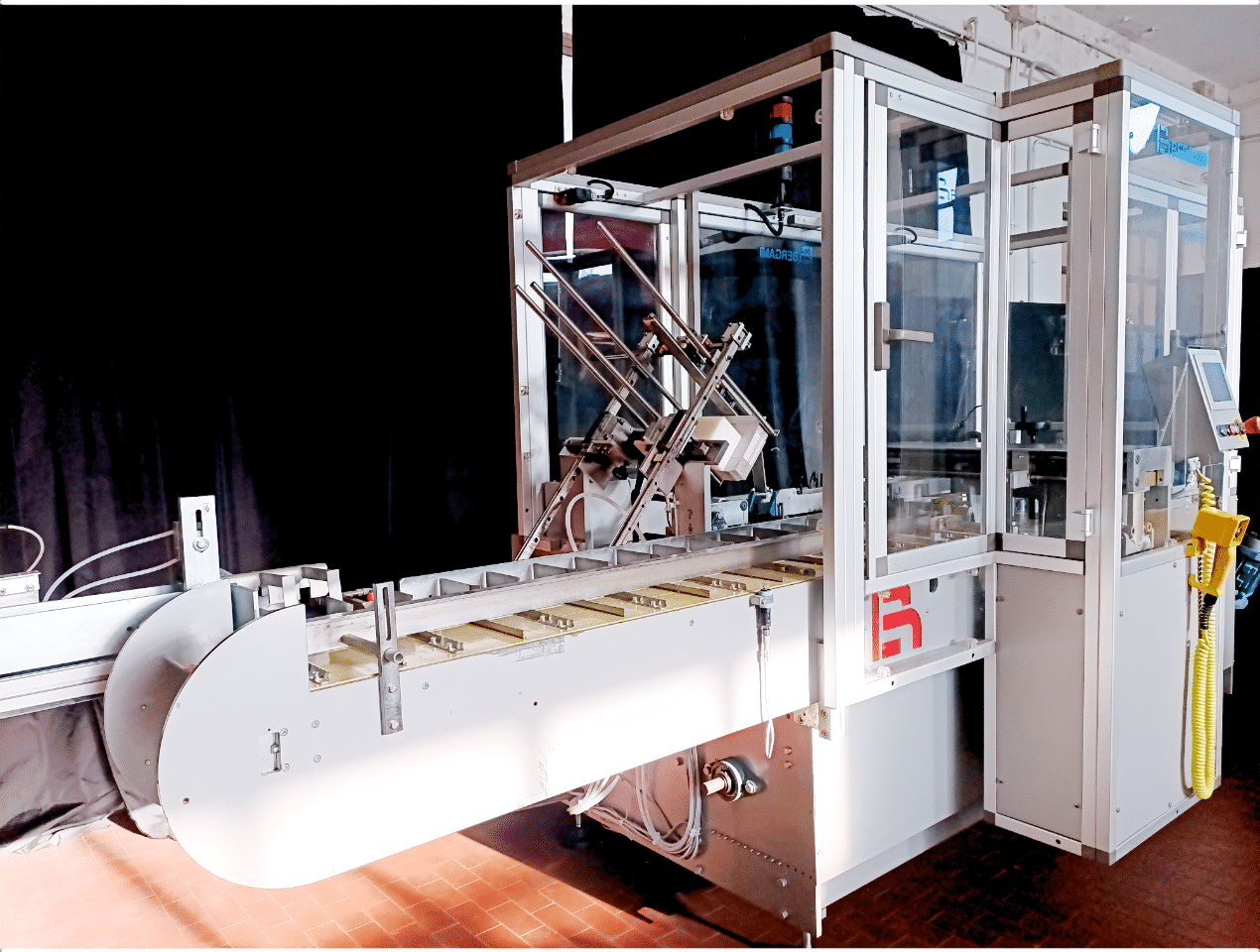 Astucciatrice automatica orizzontale Bergami AS70 3