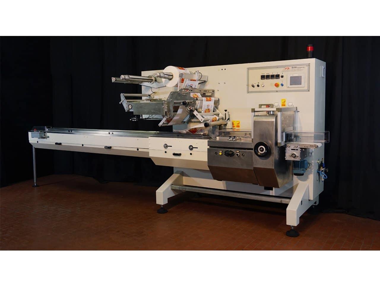 Confezionatrice Orizzontale Usata Flow Pack SchibCO90 Copertina