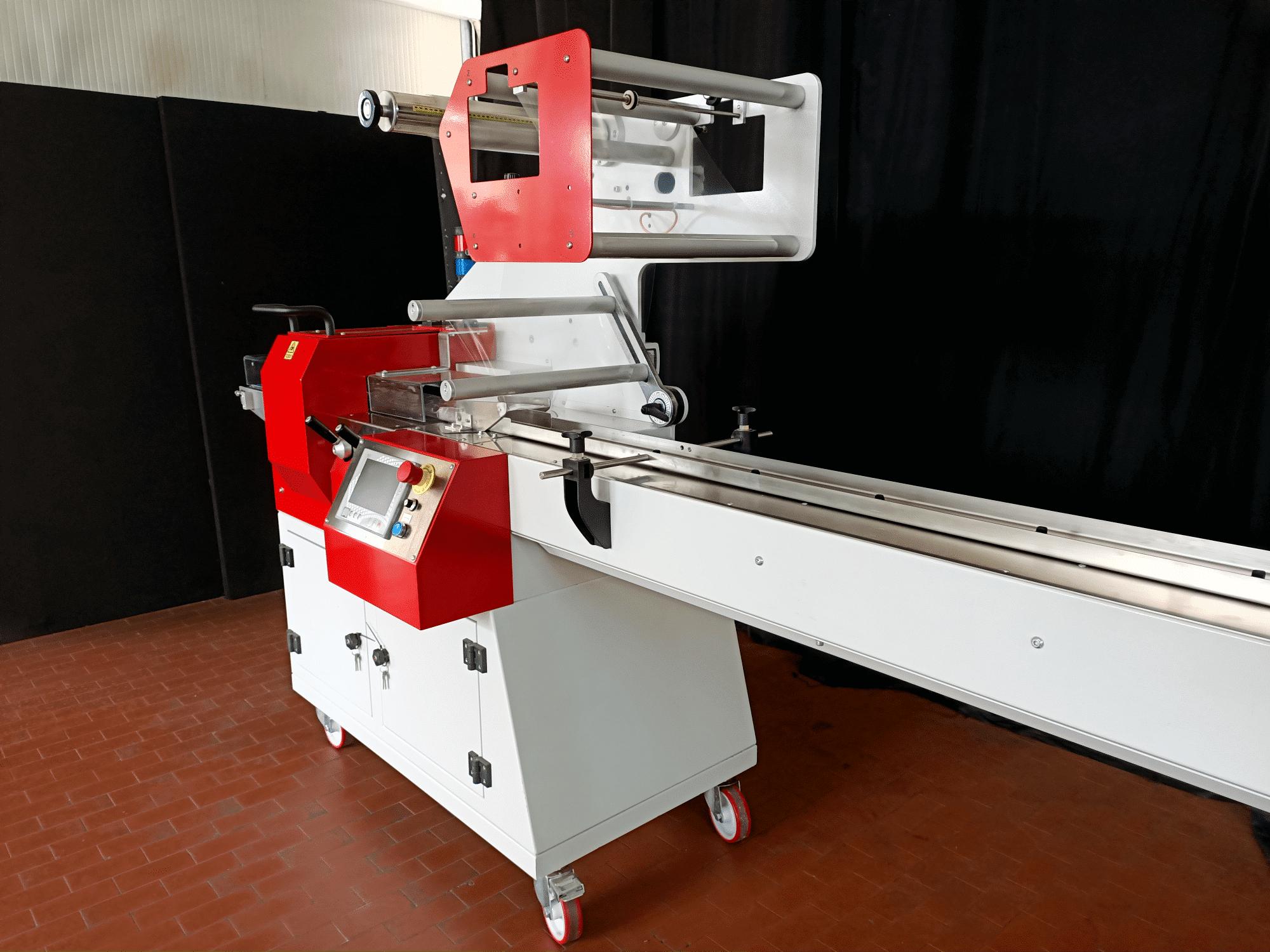 Confezionatrice Orizzontale Usata Flow Pack DM Packaging Minitronic 400 2
